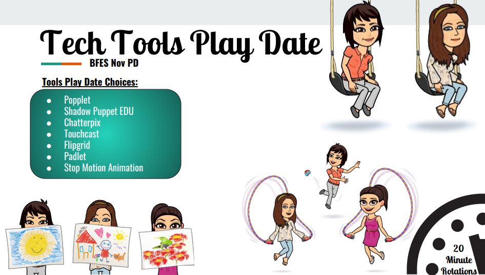 tech tools play date